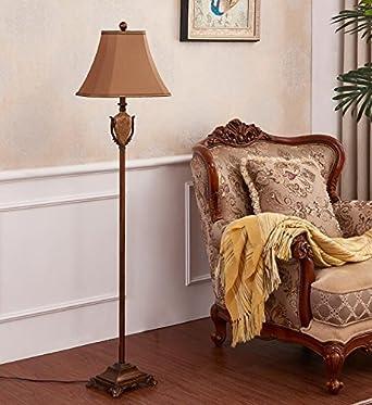 Zhangrong Boden Lampen Fussschalter American Stehlampe Wohnzimmer