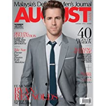 August Man June 2011 Ryan Reynolds