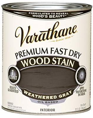 Rust-Oleum Rust-Oleum Varathane Premium Fast Dry Wood Stain, 262011 Sunbleached, 32 oz, , Sunbleached