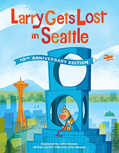 Featuring all-new artwork and several new Seattle landmarks, this limited 10th anniversary edition of the best-selling Larry Gets Lost in Seattle finds Larry, the adorable pup, lost again!Pete and Larry, his adorable pooch, take a ferry to Seattle to...