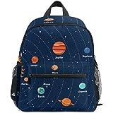LORVIES Educational Solar System Orbits And Planets Mini Kids Backpack Pre-School  Kindergarten Toddler Bag af2e47d398