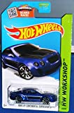 Hot Wheels - 2015 HW Workshop - Bentley Continential Supersports [Blue] 192 250