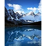 Valley of Ten Peaks Lake Moraine Banff National Park Alberta Canada Poster Print by Charles Gurche (12 x 15)