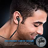 Bluetooth Headphones, ATGOIN Wireless Headphones 4.1 Lightweight Bluetooth Earbuds, Sweatproof Stereo Wireless Earbuds Noise Cancelling Wireless Earphones Fit for Gym Sports with Built-in Mic