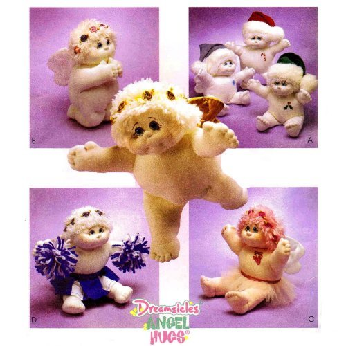 McCall's 2902 - Dreamsicles Angel Hugs - Patterns for Plush Dolls ()
