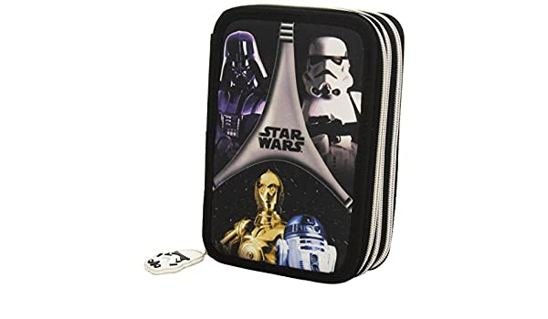 Amazon.com : Plumier Star Wars Flash triple : Office Products