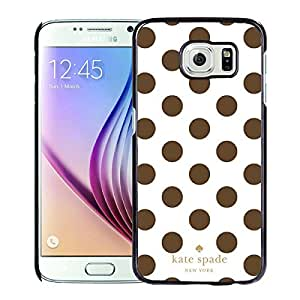 Newest Kate Spade Samsung Galaxy S6 Case ,Popular And Unique Designed Kate Spade Cover Case For Samsung Galaxy S6 Black Phone Case 299