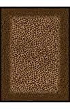 United Weavers of America Legends Collection Leopard Skin Rug, 5'3″ by 7'2″ For Sale