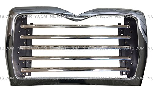 Metal Grille with Surround Chrome (Fit: Mack CV 713 Grantie T/A Truck )
