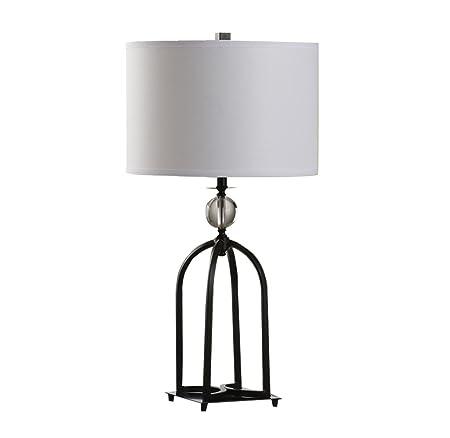Table lamp Home Mall Chino Lámpara de Mesa de Hierro Retro Lámpara ...