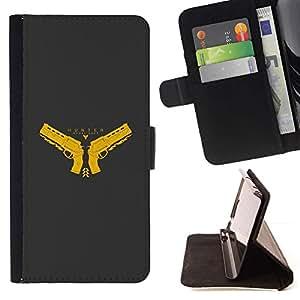 Momo Phone Case / Flip Funda de Cuero Case Cover - Hunter;;;;;;;; - Huawei Ascend P8 (Not for P8 Lite)