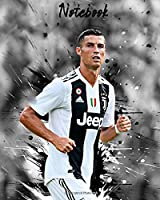 Notebook: CR7 Football Legend Football Soccer