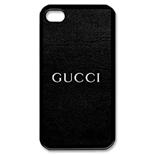 DIY Stylish Printing Gucci Cover Custom Case For iPhone 4,4S MK1Q803343