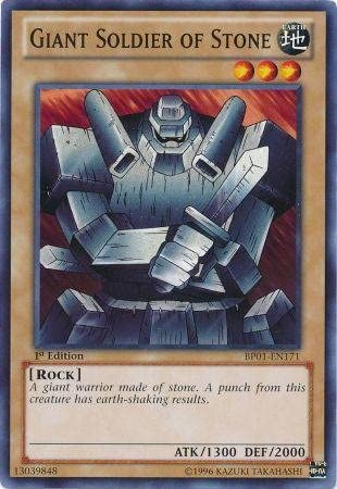 Yu-Gi-Oh! - Giant Soldier of Stone (BP01-EN171) - Battle Pack: Epic Dawn - 1s...