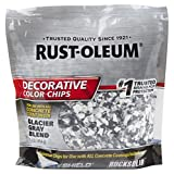 Rust-Oleum 312449 Glacier Gray Blend, 1 lb. Bag Decorative Color Chips