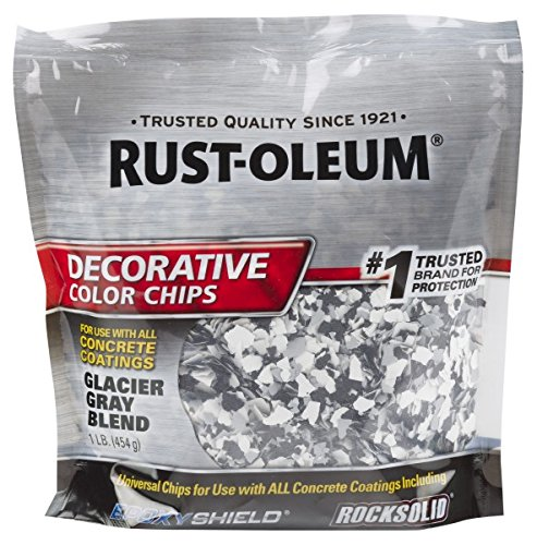 Rust-Oleum 312449 Decorative Color Chips, Glacier Gray Blend (Colors Oleum Rust)