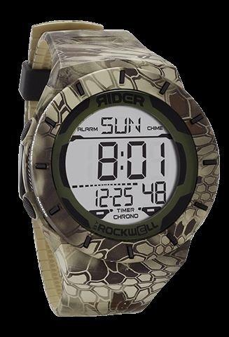Rockwell Time RCL-KRY2-1 Coliseum Digital Dial Watch, Kryptek Highlander