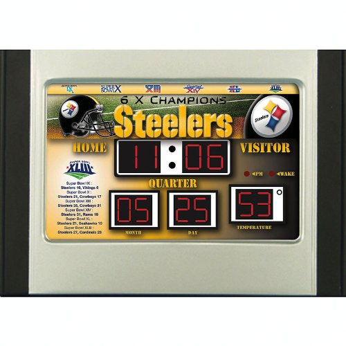 (Pittsburgh Steelers Scoreboard Desk)