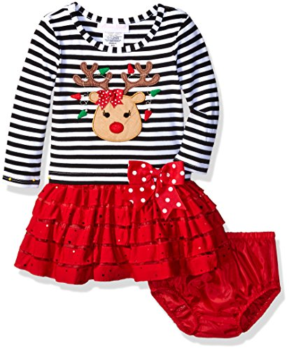 Bonnie Baby Baby 2 Pc Long Sleeved Knit - Long Sleeved Dresses For Baby