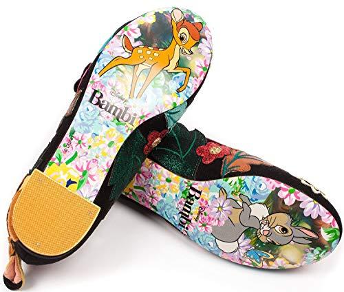 Disney Prince X Noir Chaussures irregular Bambi Little Sweet Choice x5Ywqg1E