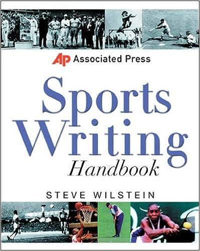 Associated Press Sports Writing Handbook (Associated Press Handbooks)