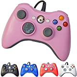PomeMall USB Wired Game Pad Controller for Xbox 360, Windows 7 (X86), Windows 8 (X86) (Pink)