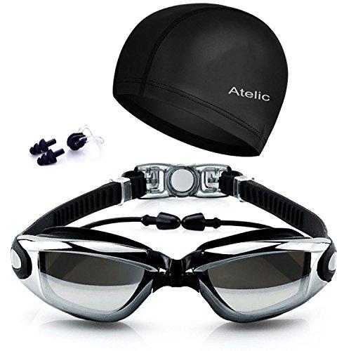 Atelic SWIM GOGGLES Swimming Goggles Cap Equipment Anti ...