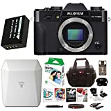 Fujifilm X-T2 Mirrorless Camera Body Software Bundle w/NPW126 Batteries + SP-3 Instax Instant Printer & FIlm