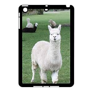 J-LV-F Design Case Lama Pacos Customized Hard Plastic Case for iPad Mini