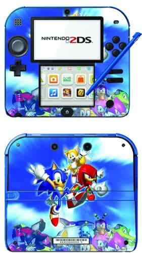 Amazon.com: Sonic The Hedgehog Game Skin for Nintendo 2DS