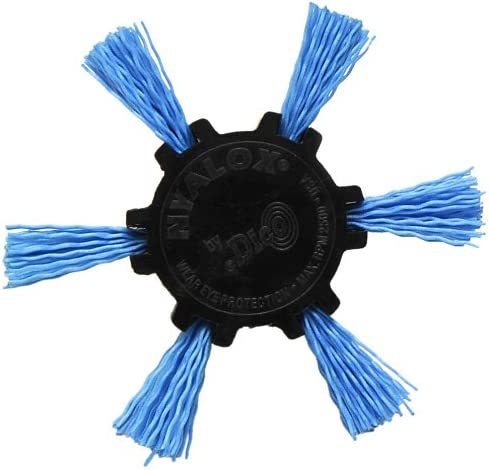 Blue Dico Products 7200039 Nylox Flap Brush 4 240 Grit