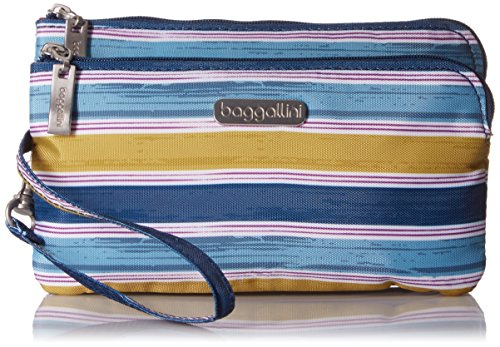 baggallini-rfid-double-zip-wristlet-tropical-stripe