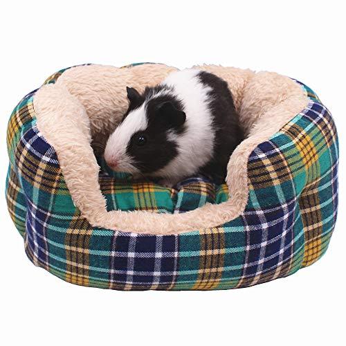 JanYoo Hedgehog House Supplies Hedgehog Bed Rat Accessories Hideout Hide Fleece