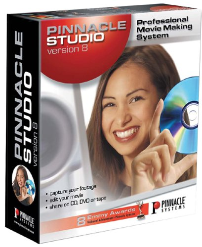 (Pinnacle Studio 8.0 Video Editing with CD/DVD Authoring)