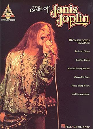 The Best Of Janis Joplin Guitar Recorded Versions Sheet Music For