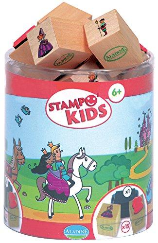"""Aladine 3003348 """"Stampo Kids Princess Stamp Set (15ピース)   B00992KCVW"""