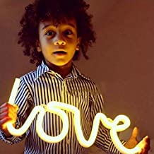 LOVE Bolt Neon Art Sign Love LED Neon Signs Handmade Visual Artwork Home Wall Decor Light For Kids Room Designed By WanXing