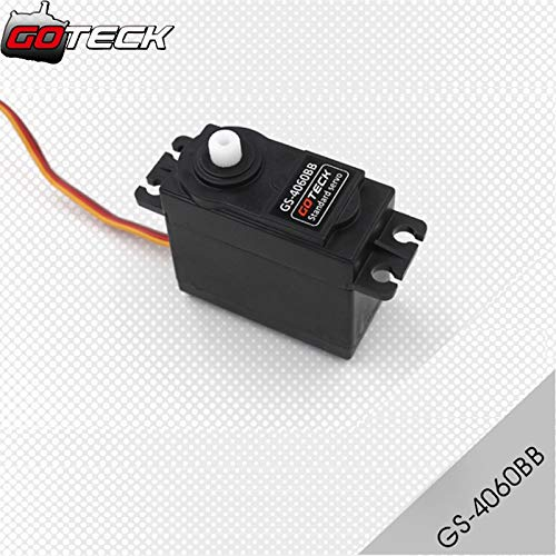 Kamas GOTECK GS-4060BB Metal Gear Servo for Trex 450 500 Heli Rc Car Truck - (Color: 4pcs GS-4060BB)