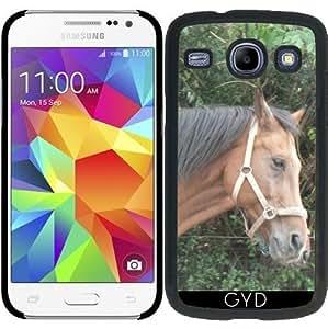 Funda para Samsung Galaxy Core i8260/i8262 - Caballo Marrón by More colors in life