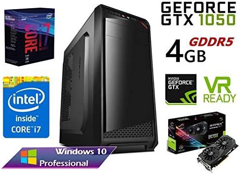 PC Gaming Ordenador Sobremesa Intel Six Core i7 8700 up to 4,6Ghz ...
