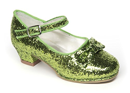 Kidcostumes Tinkerbell Green Glitter Shoes