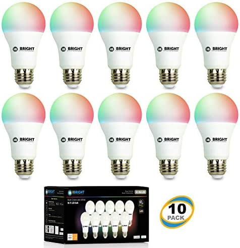iBRIGHT Smart WiFi LED Light Bulb