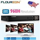 Floureon 960H DVR 8CH Video Recorder HDMI H.264 CCTV Security Cameras System For Home/Office Surveillance and Security Monitoring