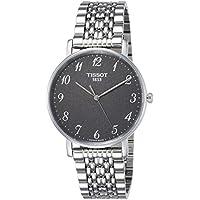 Tissot Men's Quartz Stainless Steel Casual Watch, Color:Grey (Model: T1094101107200)