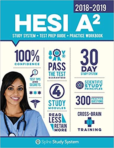 Hesi A2 Study Guide 2018 2019 Spire Study System Hesi A2 Test