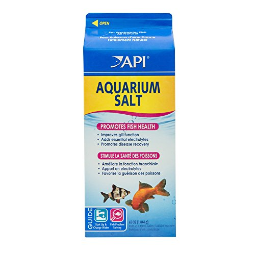 - API AQUARIUM SALT Freshwater Aquarium Salt 65-Ounce Box