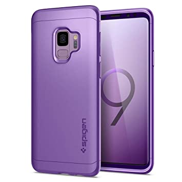 new arrival e8410 b7a7e Spigen [Thin Fit 360] Galaxy S9 Case Cover with Exact Slim Full Body  Protection with Tempered Glass Screen Protector for Samsung Galaxy S9  (2018) ...
