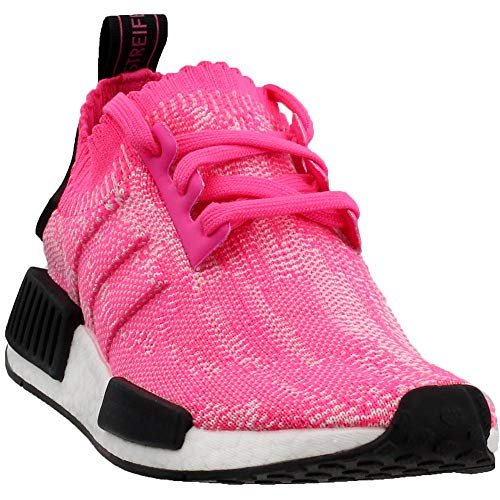 adidas NMD_r1 Pk W Womens Aq1104 Size 9.5 Solar Pink (Best Laces For Nmd)