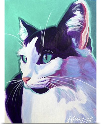 Dawg Art Poster Print entitled Cat Kitty