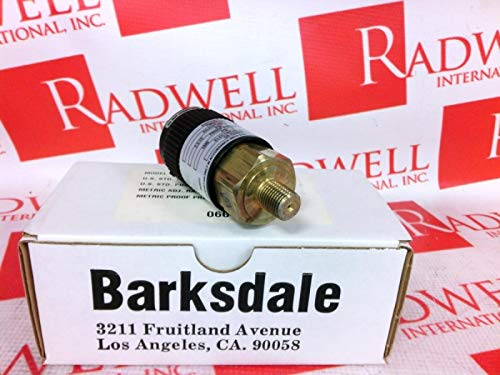 BARKSDALE T96211-BB1-T1 Pressure Switch VE